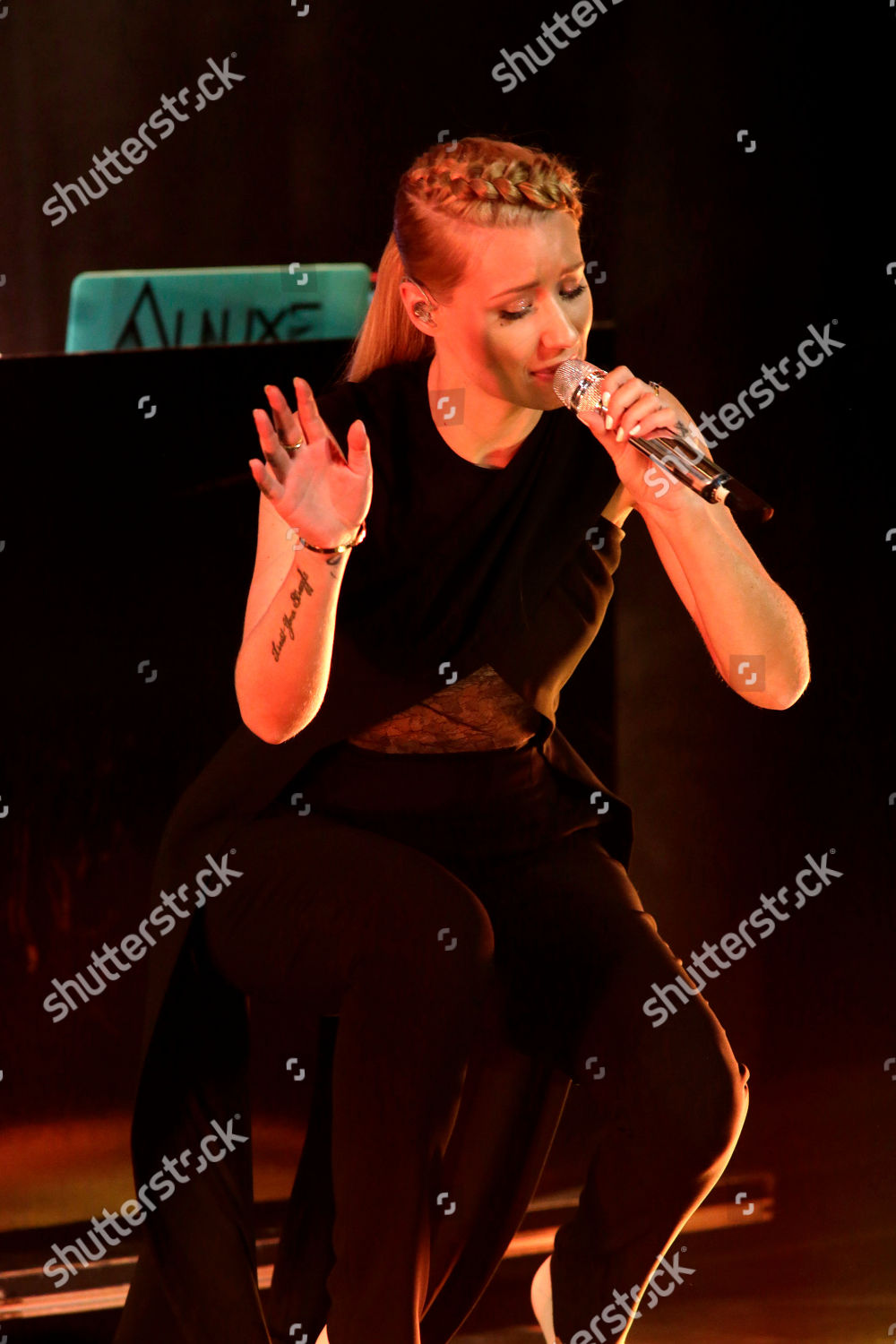 Iggy Azalea performs Universal Music Group Artists Editorial Stock