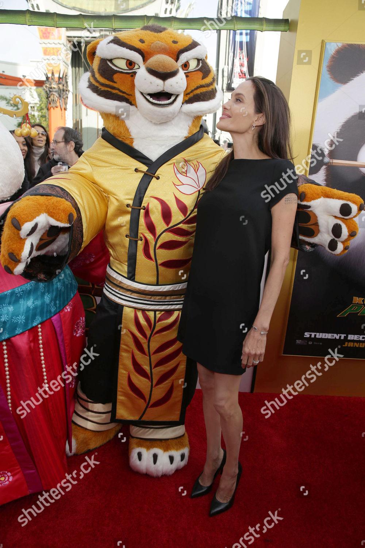 Tigress Angelina Jolie Seen Dreamworks Animation Twentieth Editorial