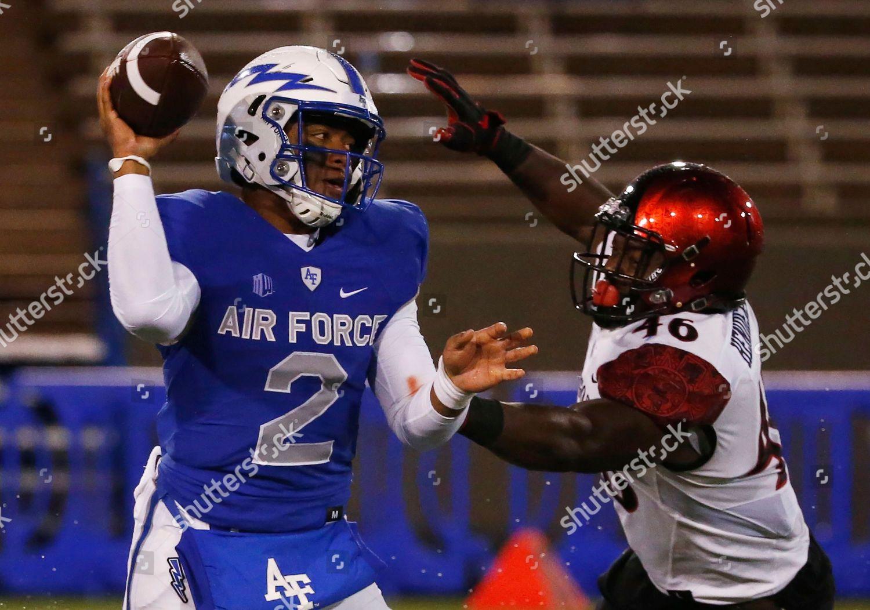 Arion Worthman Jay Henderson Air Force Quarterback Editorial Stock Photo Stock Image Shutterstock