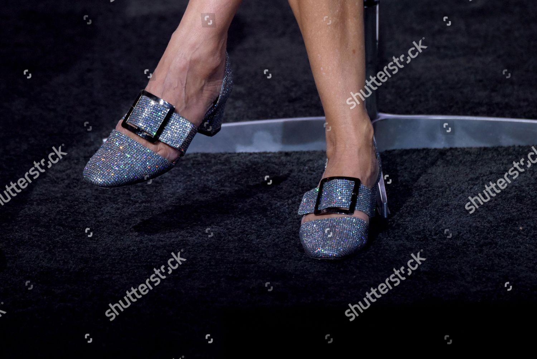 Sarah Jessica Parker Shoe Detail Editorial Stock Photo - Stock Image