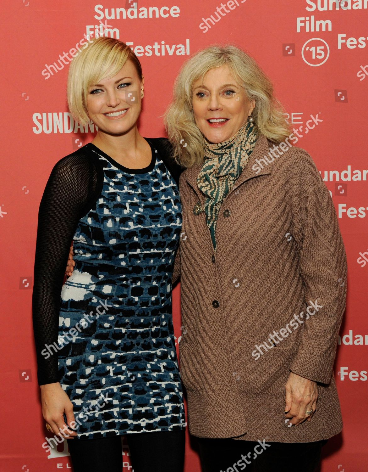 Malin Ackerman left Blythe Danner cast members Editorial