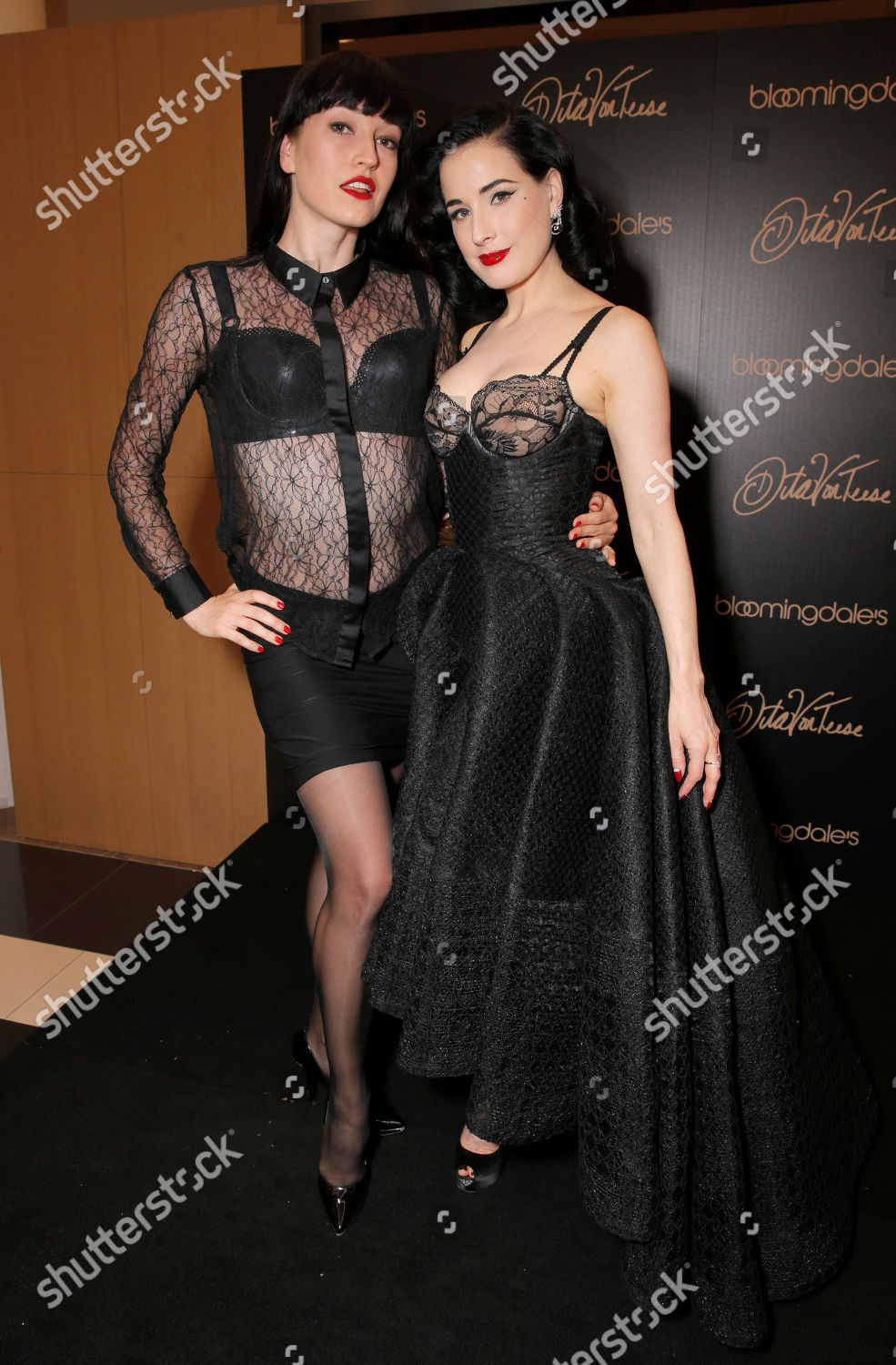 187a6c996a2 Stock photo of West Coast Launch of Dita Von Teese Lingerie at  Bloomingdale s Century City