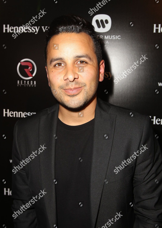 DJ Mando Fresko seen Hennessy VS Warner Editorial Stock
