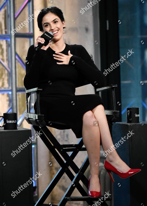 Actress Leem Lubany participates AOLs BUILD Speaker