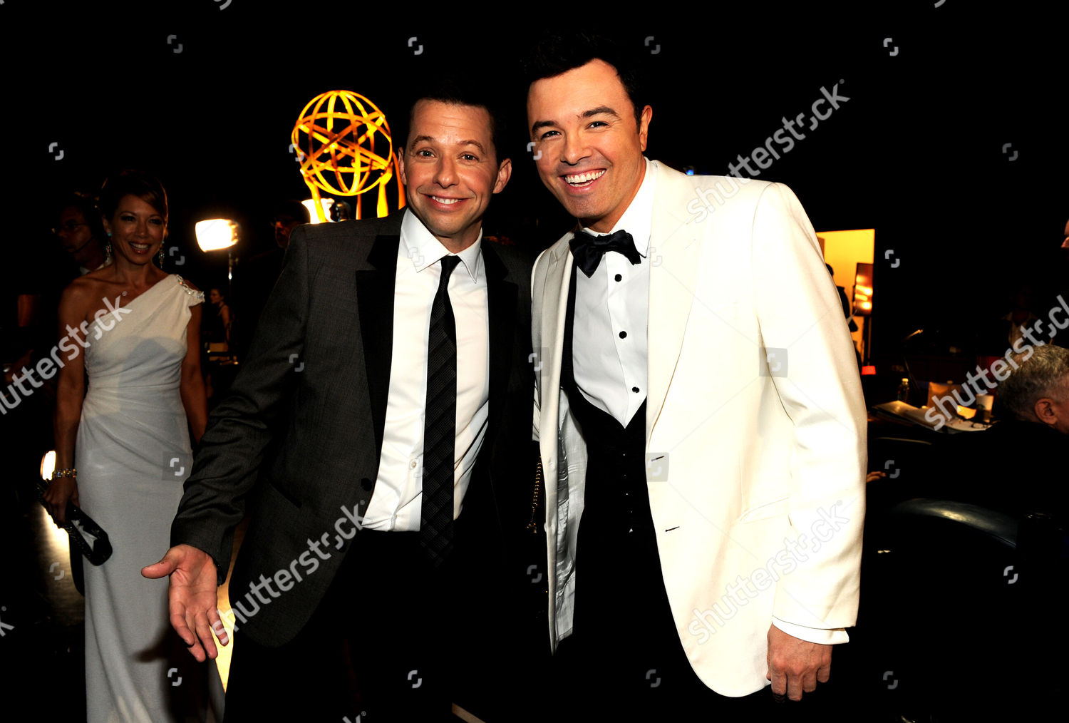 Stock photo of 64th Primetime Emmy Awards - Backstage & Audience, Los Angeles, USA