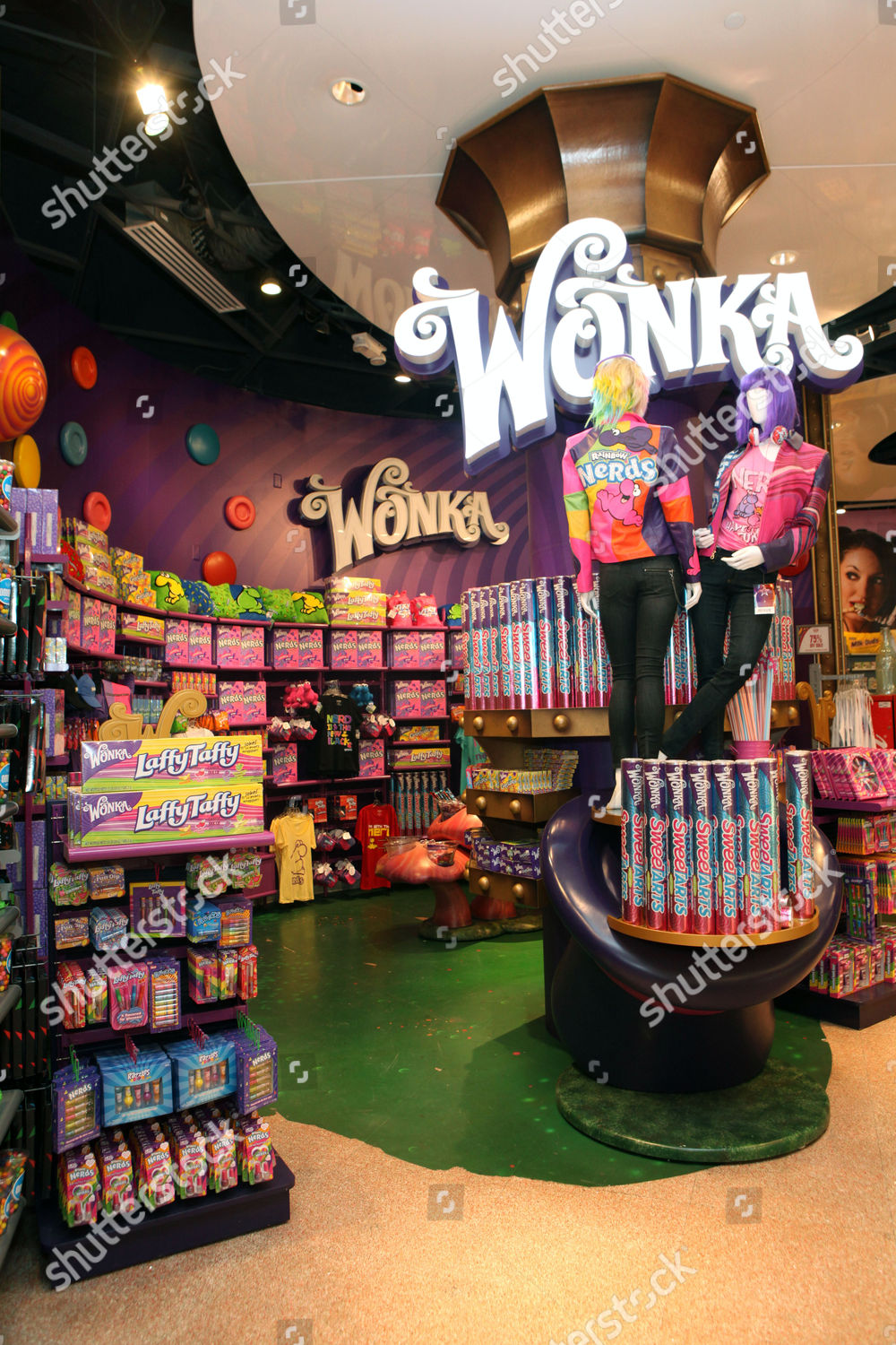 general view atmosphere seen SweeTARTS Candy Grab Editorial Stock