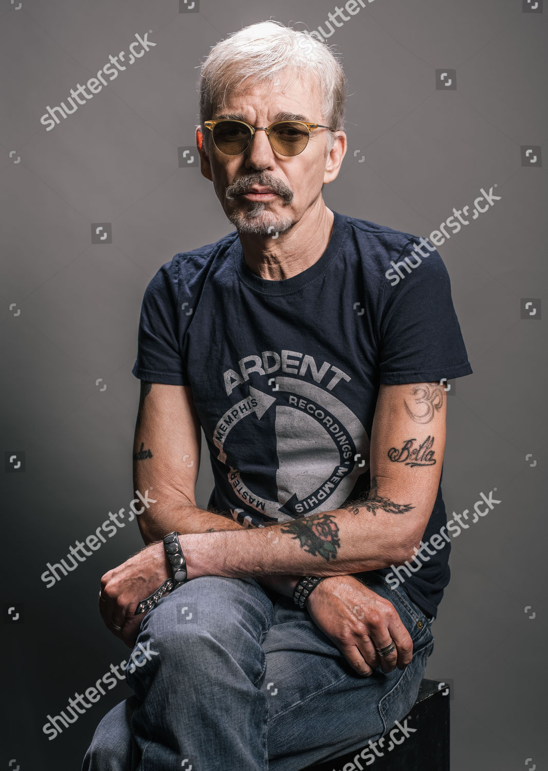 Actor Billy Bob Thornton Poses Portrait While Editorial