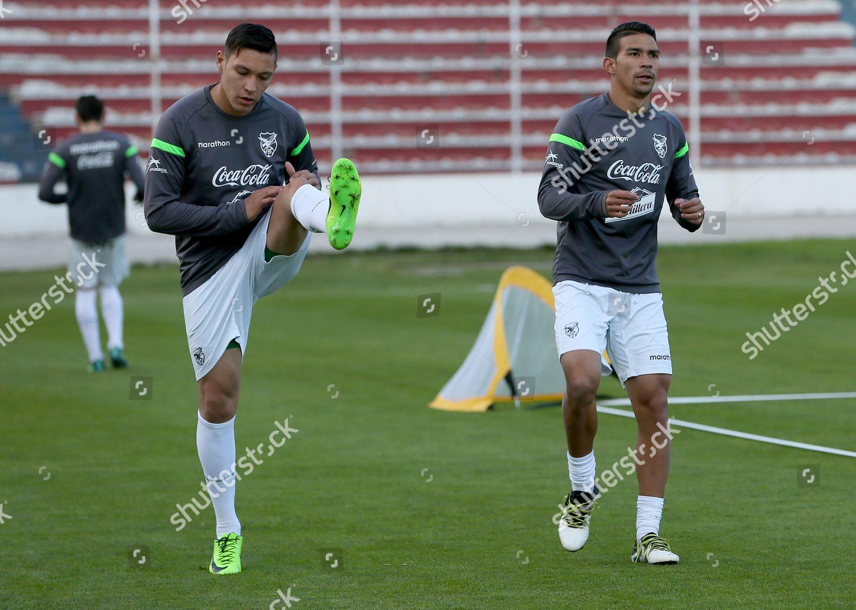 cb26c71f7 Bolivian players Juan Eduardo Fierro L Diego Editorial Stock Photo ...