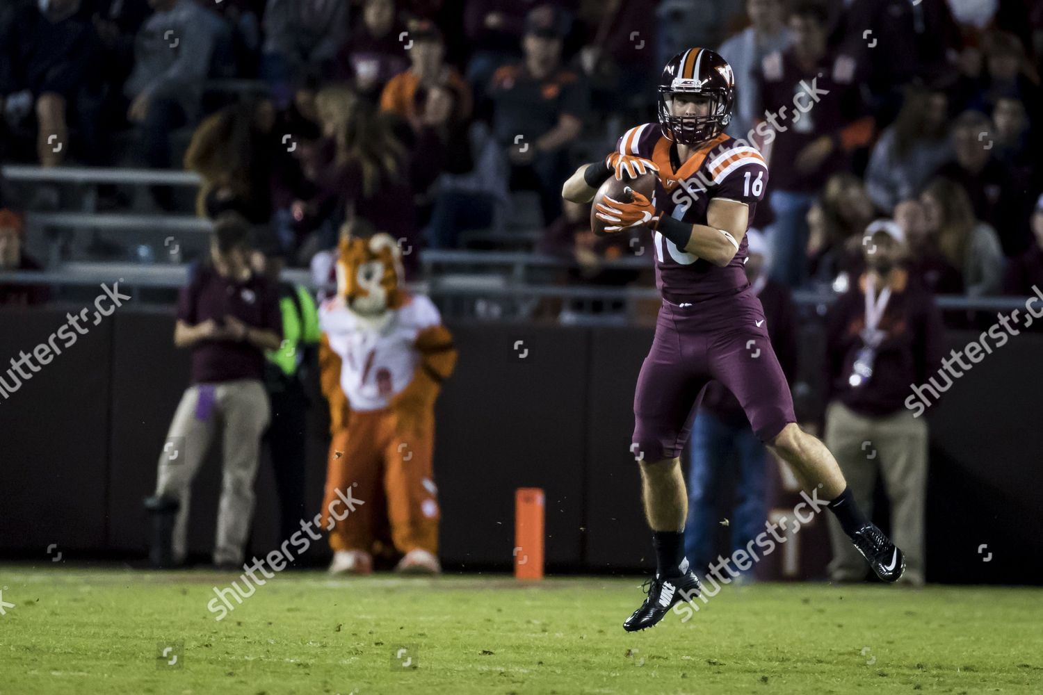 Virginia Tech Hokies Running Back Coleman Fox Editorial