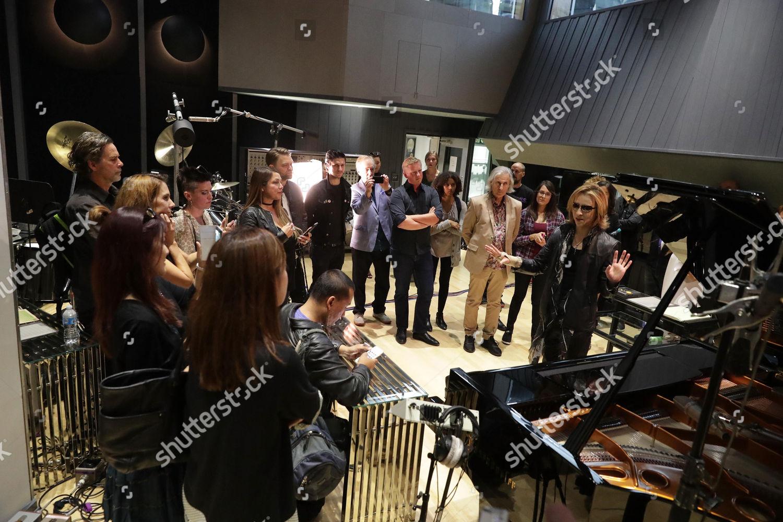 Yoshiki Seen Meet Greet His Recording Studio Editorial Stock Photo
