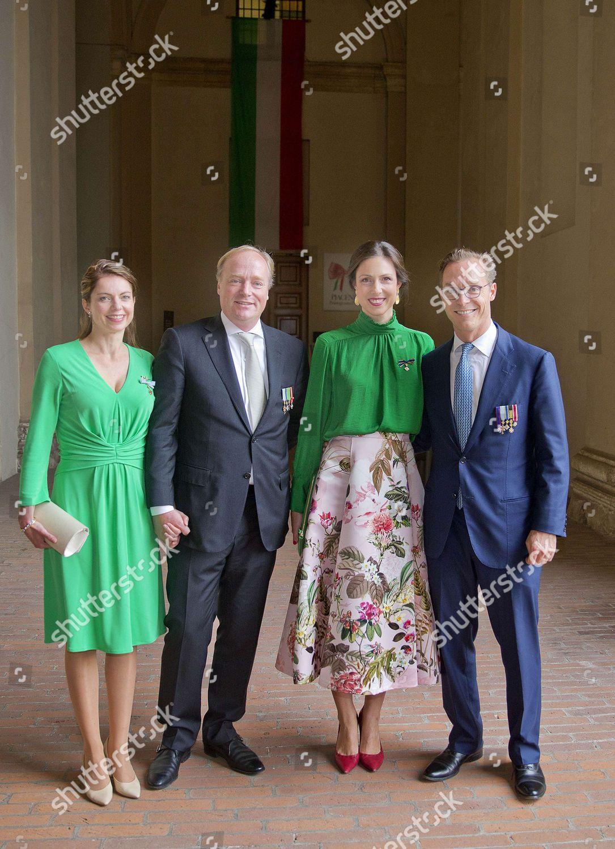 Stock photo of Ceremony at the Palazzo Farnese, Parma, Italy - 30 Sep 2017