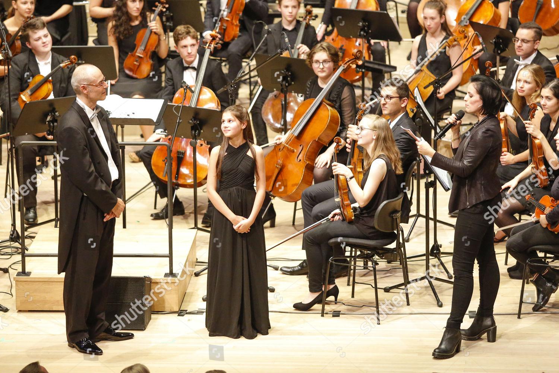 Dirigent Clemens Malich Orchestermitglied Nane Schulz Stefanie Editorial Stock Photo Stock Image Shutterstock