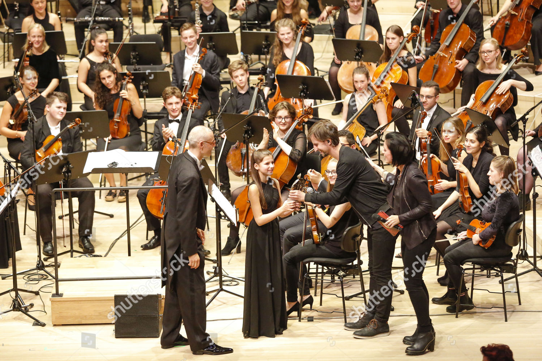Dirigent Clemens Malich Orchestermitglied Nane Schulz Johannes Editorial Stock Photo Stock Image Shutterstock