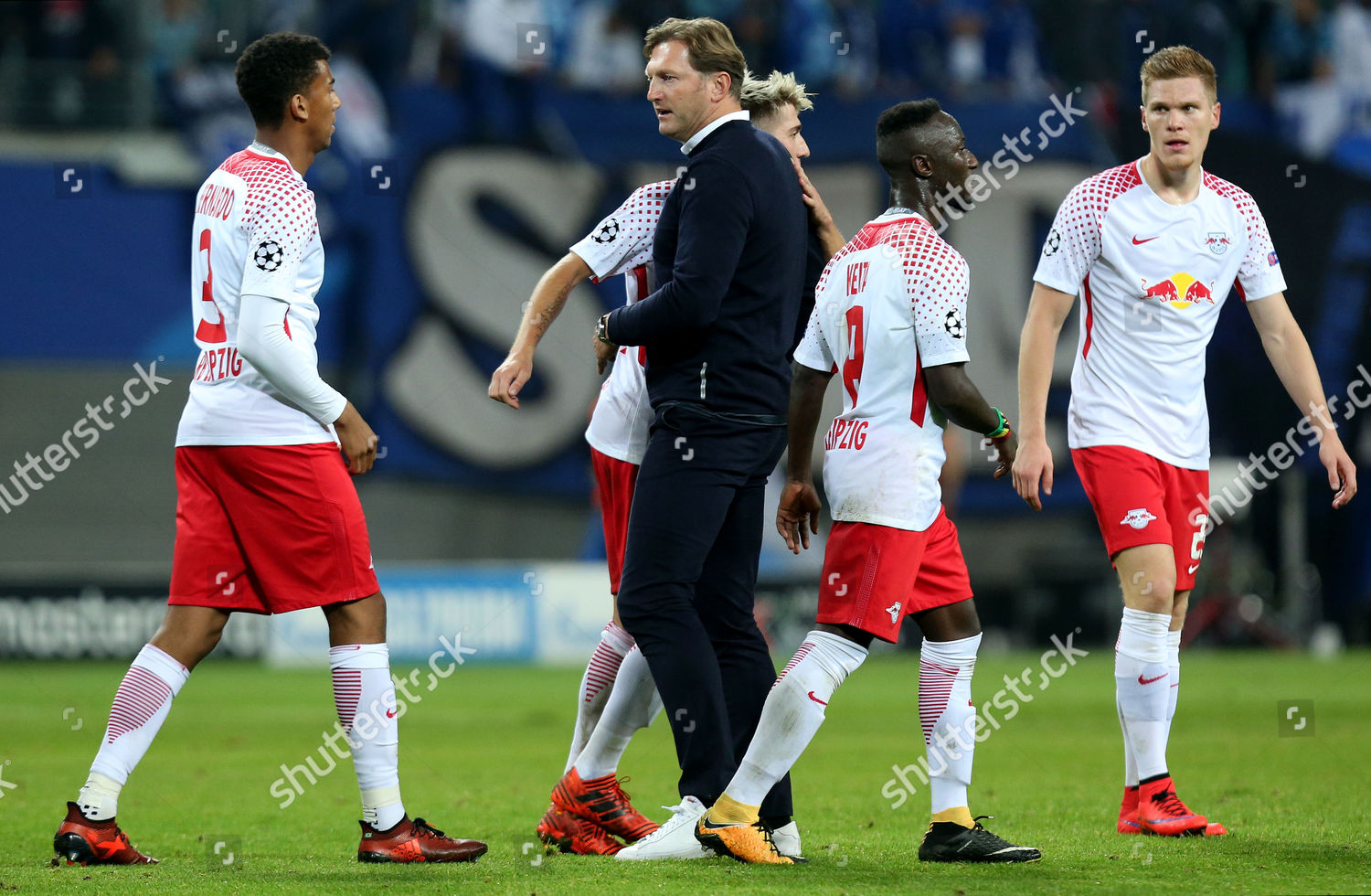 Rb Leipzig Manager Ralph Hasenhuttl Celebrates His Editorial Stock Photo Stock Image Shutterstock
