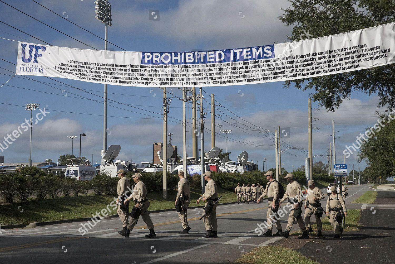 list prohibited items seen preparation Richard Spencer