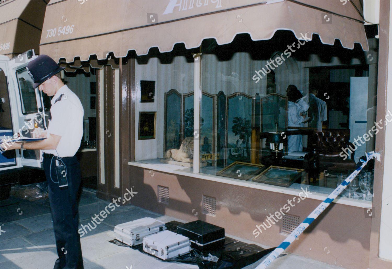 Scene Anno Domini Antique Shop Pimlico Road Editorial Stock Photo