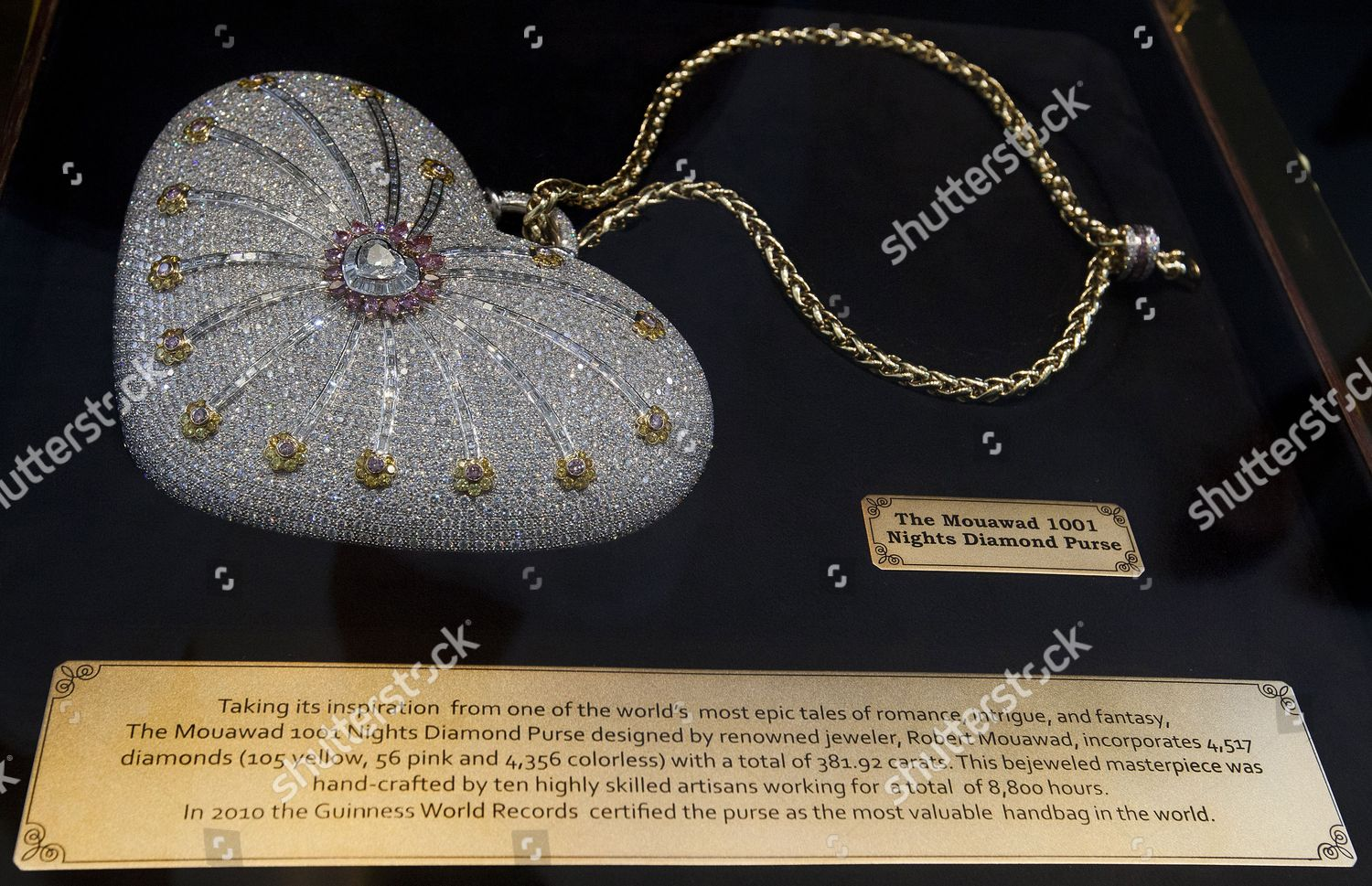 What Is The Most Expensive Stock >> What Claimed Be Most Expensive Handbag World Editorial Stock