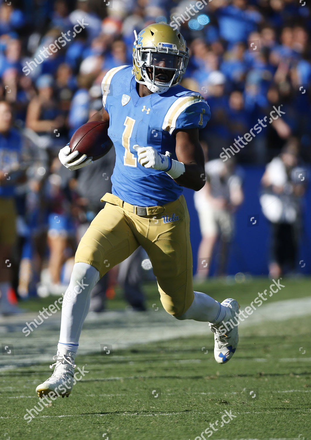 sale retailer a2c4a c9c4a UCLA Bruins running back Soso Jamabo 1 Editorial Stock Photo ...