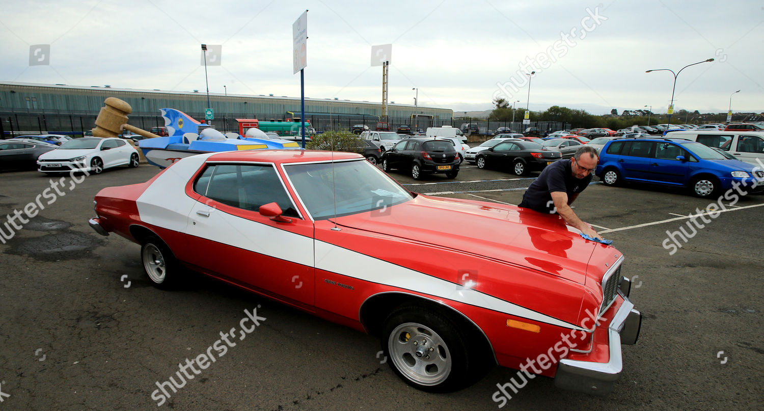 final polish this replica Starsky Hutch Grand Editorial Stock Photo