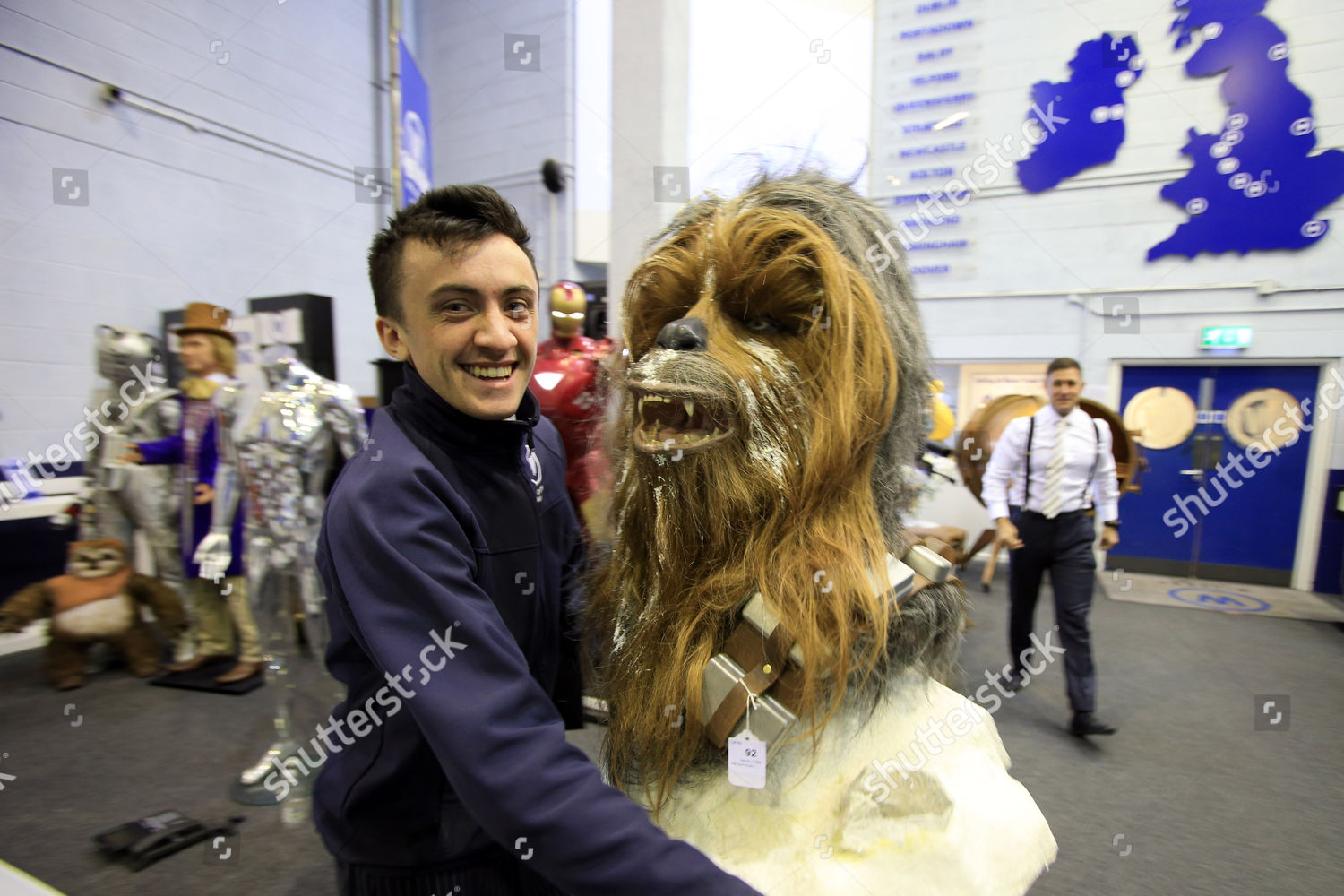 Gareth Kerr adds Chewbacca some other science Editorial Stock Photo