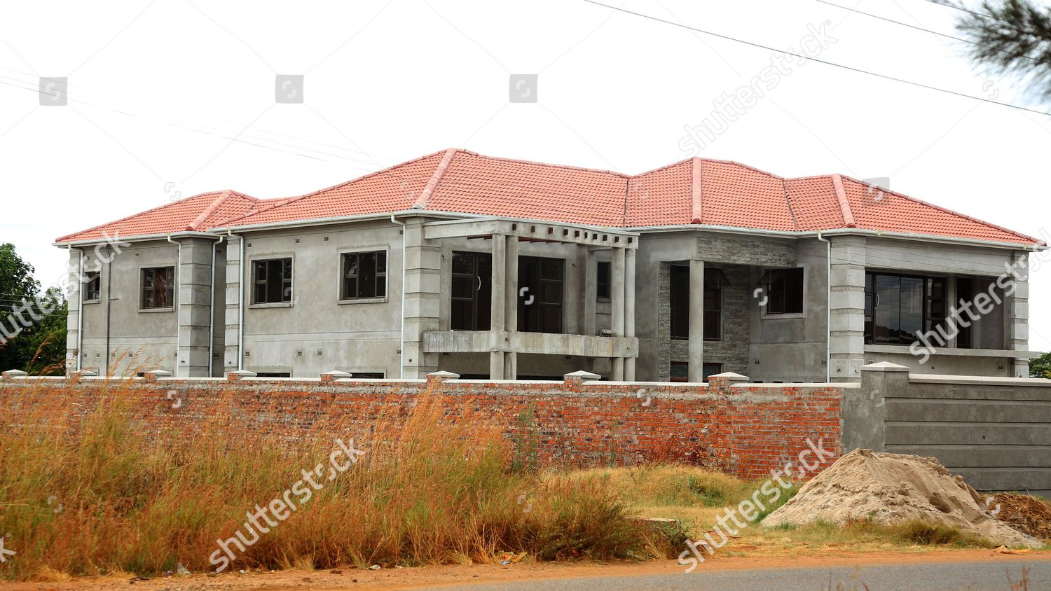 Upscale House Under Construction Mount Pleasant Harare Editorial Stock Photo Stock Image Shutterstock