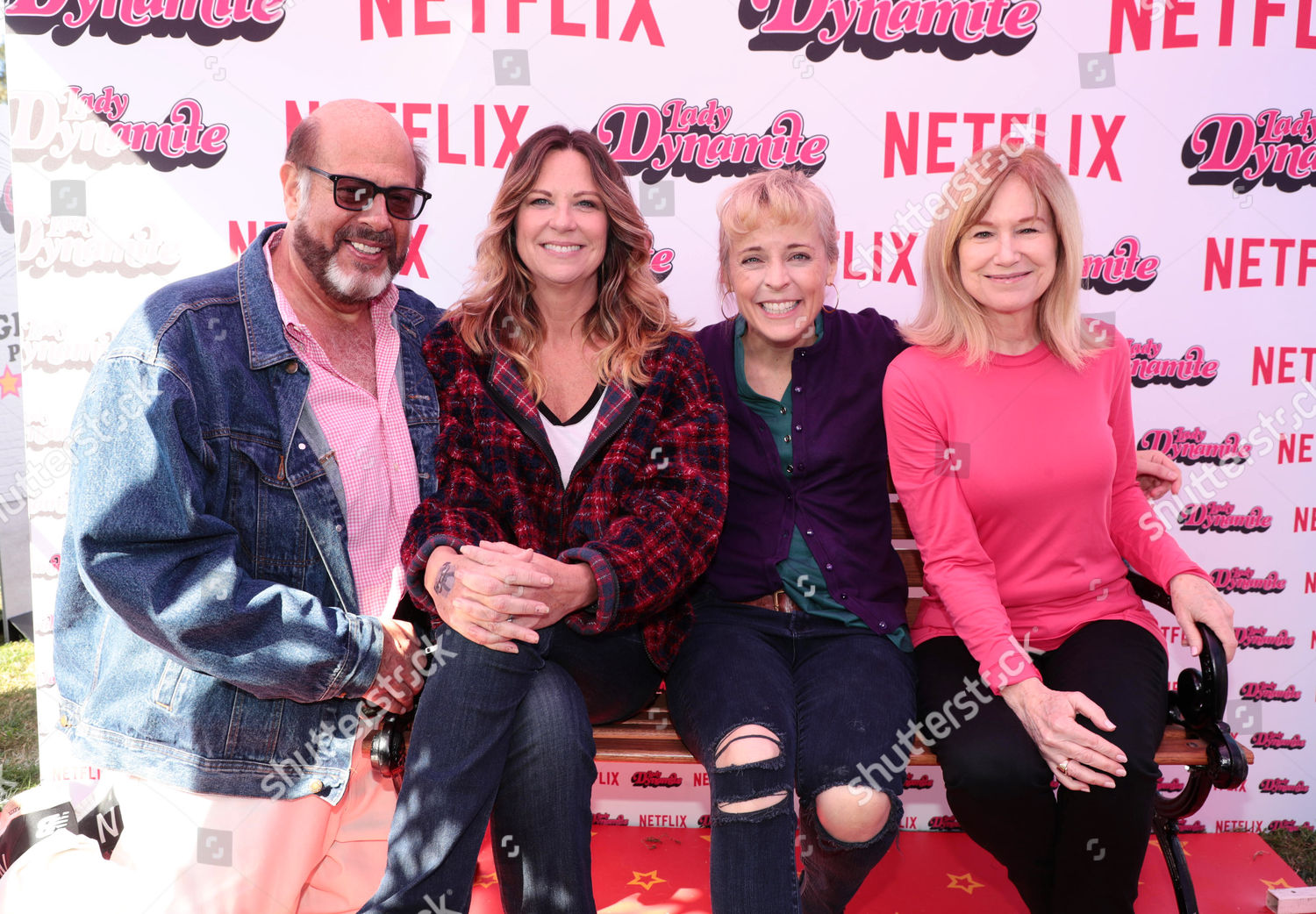 Fred Melamed Mo Collins Maria Bamford Mary Editorial Stock