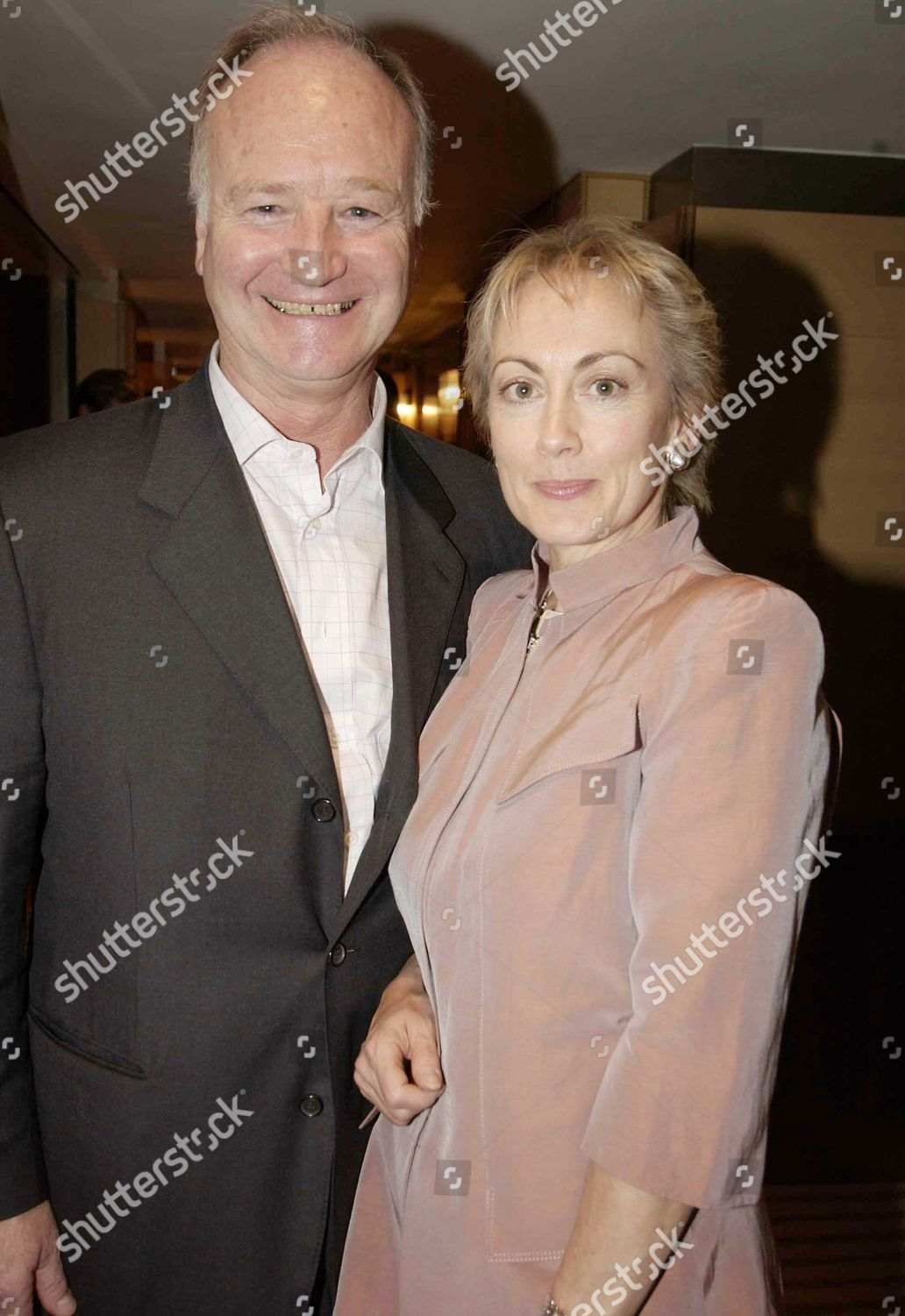 Paula Wilcox her husband Nelson Riddle Jr Editorial Stock