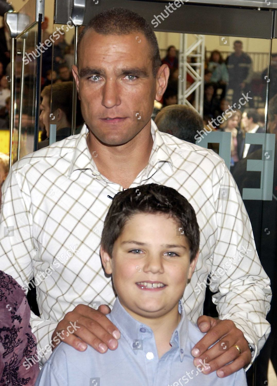 Vinnie Jones His Son Aaron Editorial Stock Photo Stock Image Shutterstock