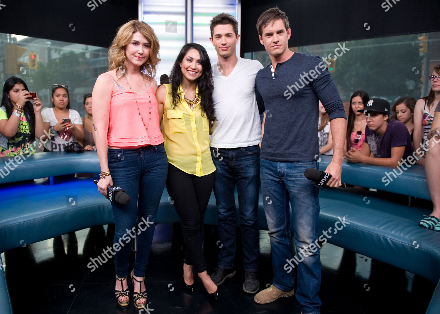 Stock photo of The Cast of