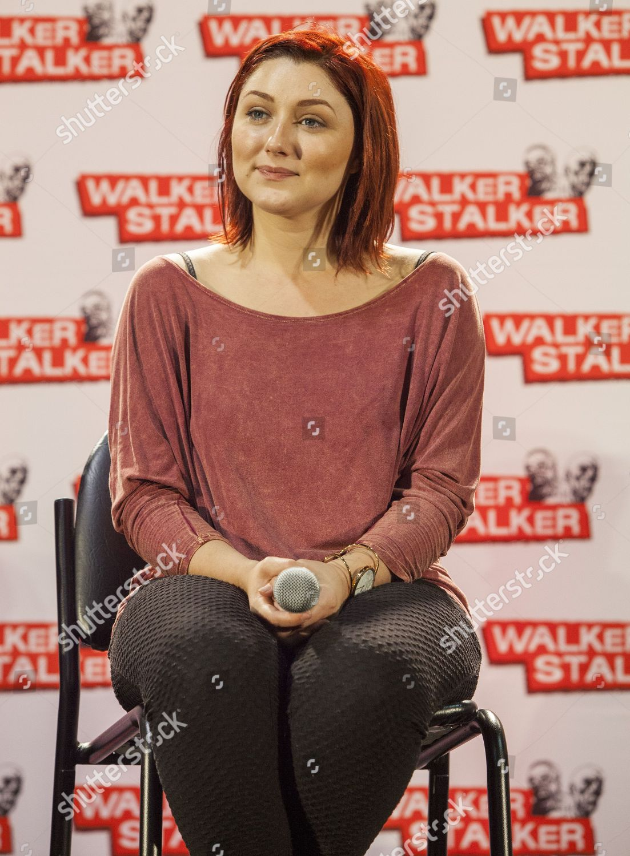 Anastasija Baranova anastasia baranova appears walker stalker convention during