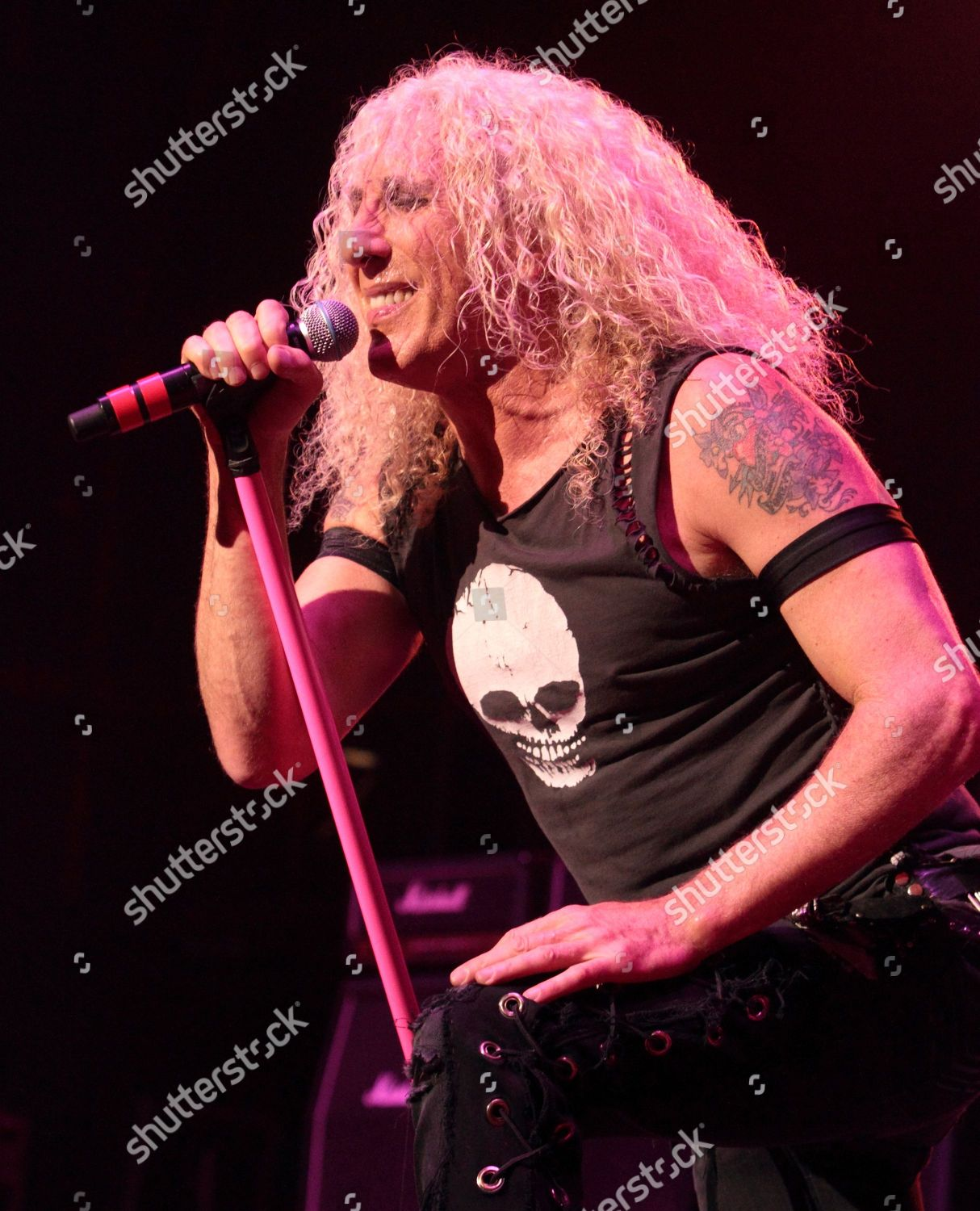 Dee Snider glam metal band Twisted Sister Editorial Stock