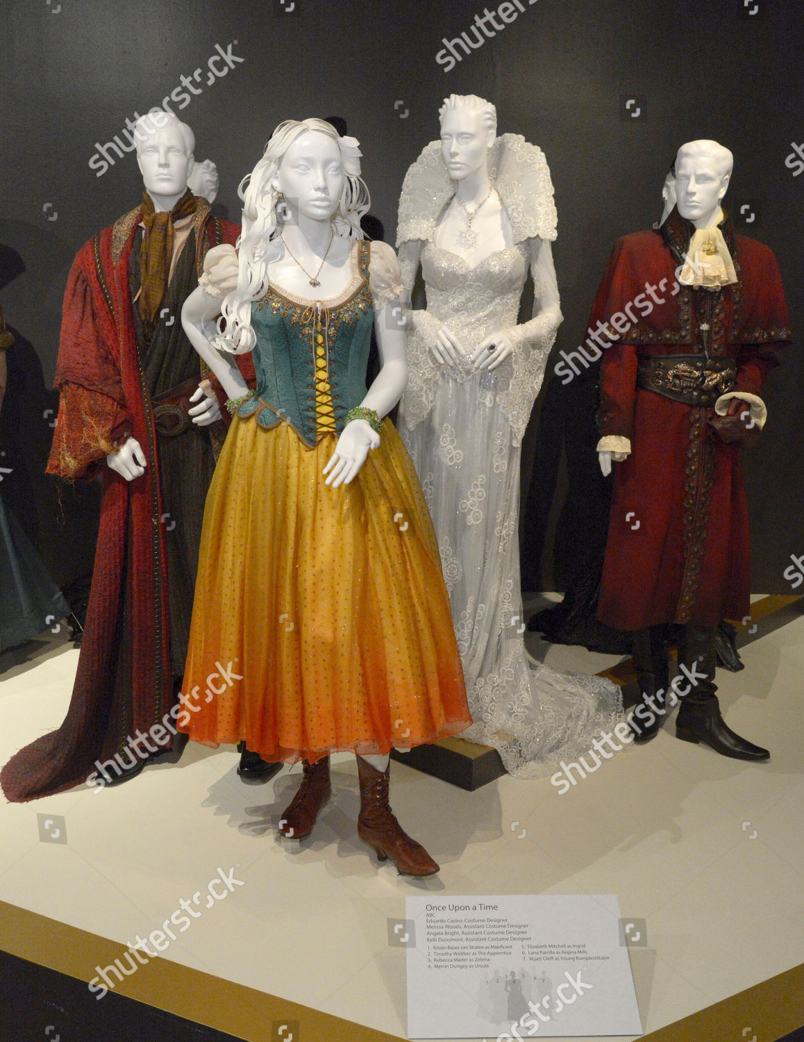 Costumes Once Upon Time Seen 9th Annual Editorial Stock Photo Stock Image Shutterstock