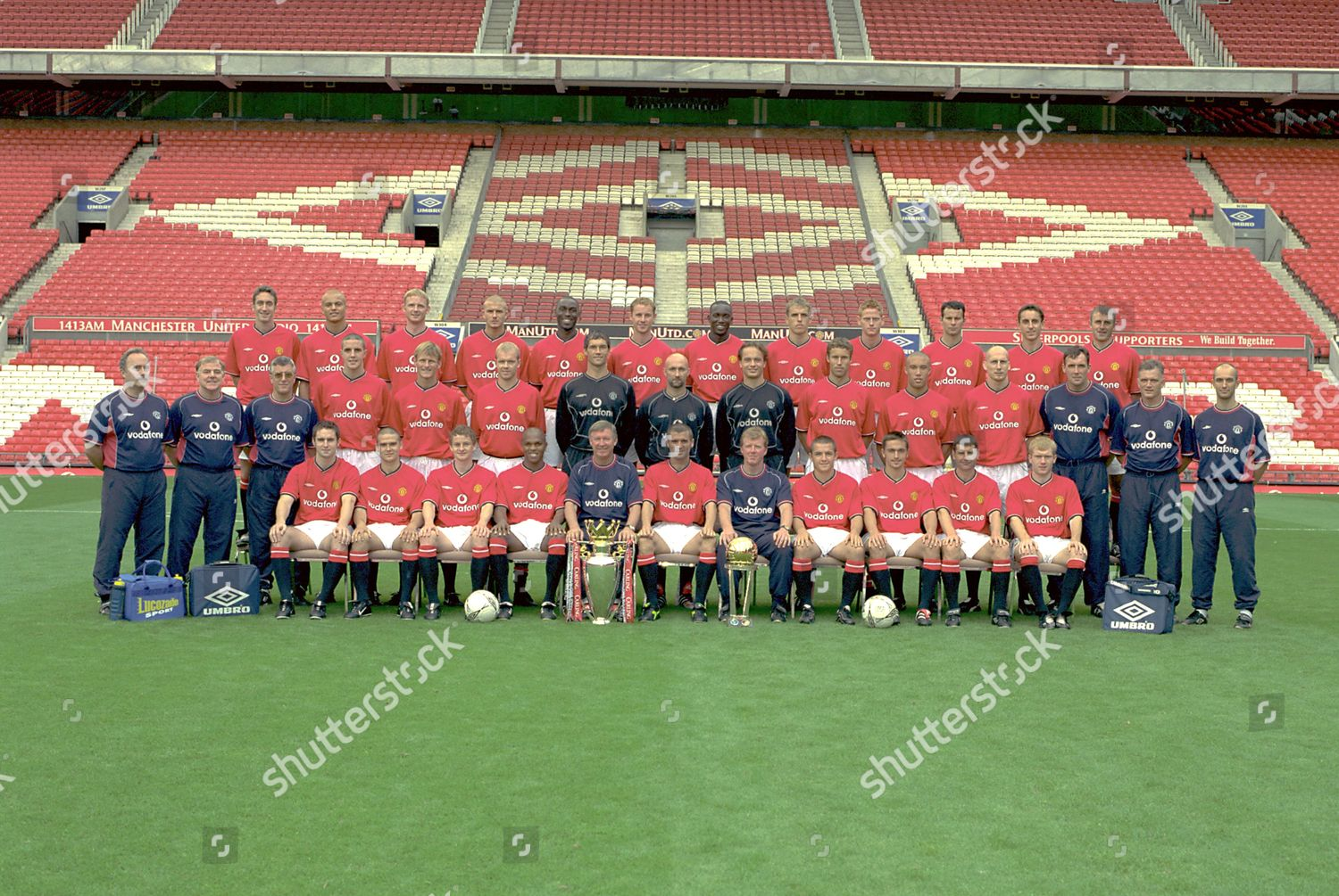 Class of /'92 Manchester United FC Poster Print