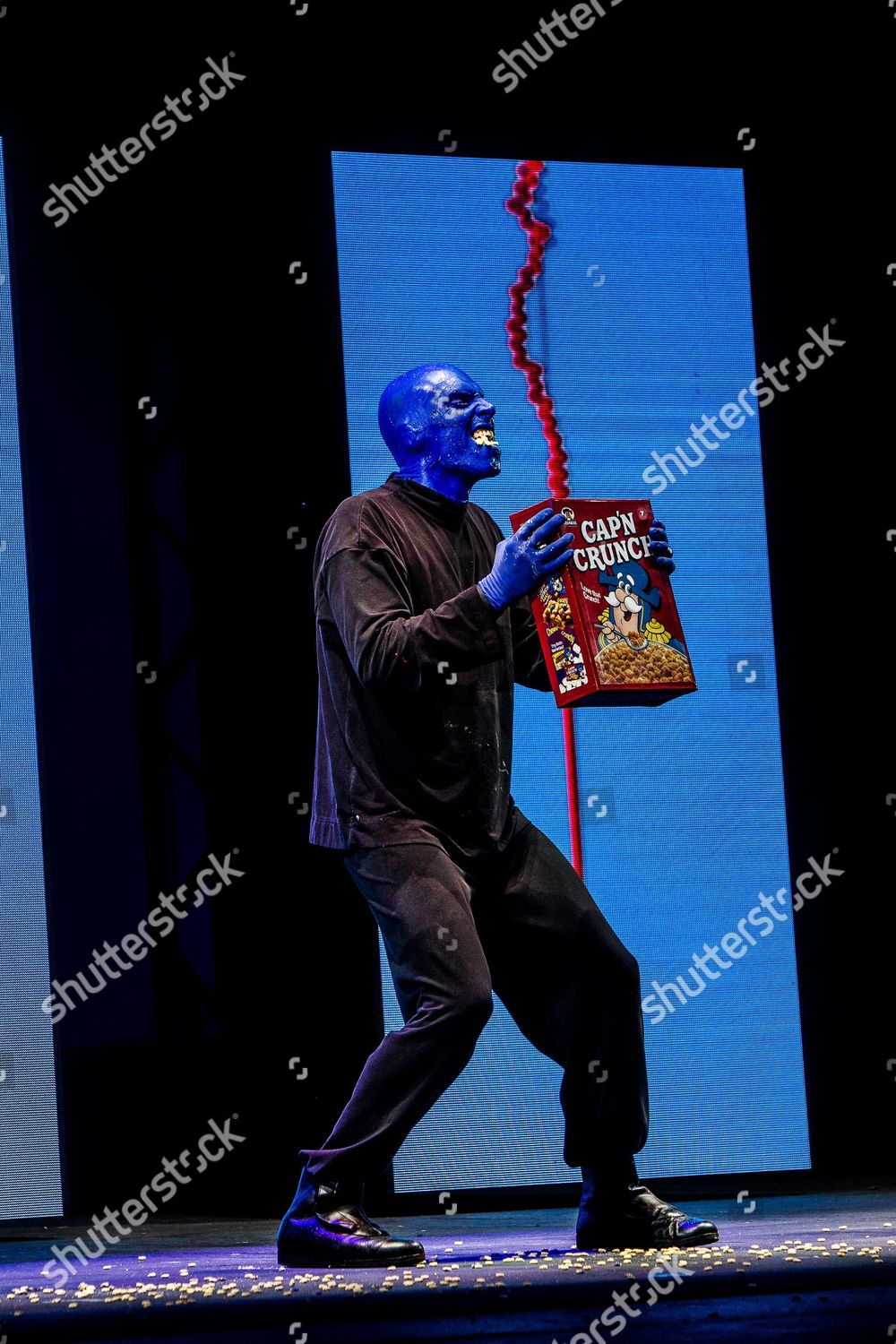 Blue Man Group Editorial Stock Photo Stock Image Shutterstock