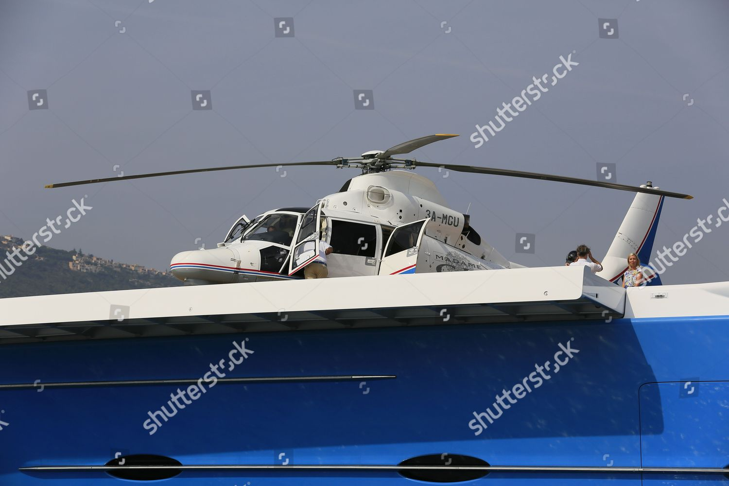 Helicopter landing Editorial Stock Photo - Stock Image | Shutterstock