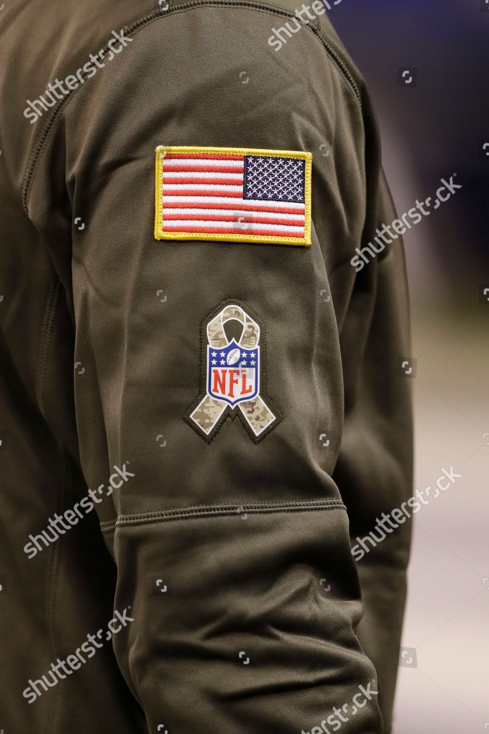 new product d6737 9e9fd Indianapolis Colts players wears Salute Service gear ...