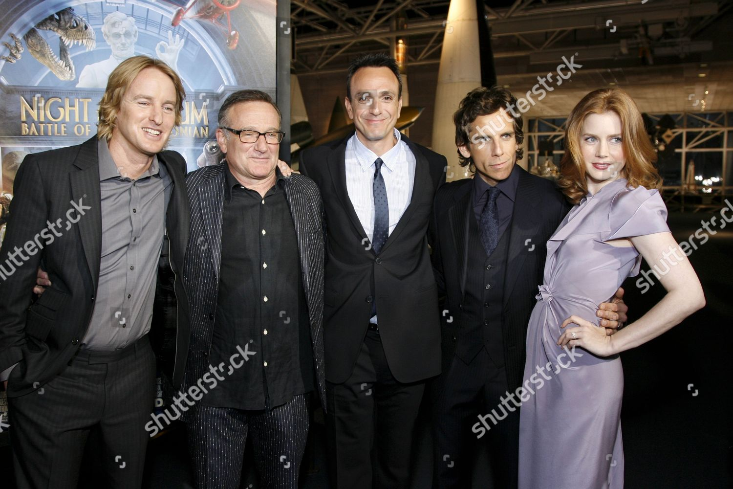 'Night at the Museum Battle of the Smithsonian' film premiere, Washington DC, America - 14 May 2009: стоковое фото