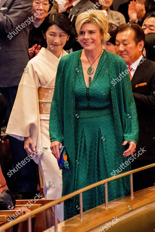 Visit Concert by Royal Concertgebouw Orchestra on the occasion of the completion of the Omotemonbashi Bridge @ Nagasaki Brick Hall, Nagasaki, Japan - 23 Nov 2017: стоковое фото
