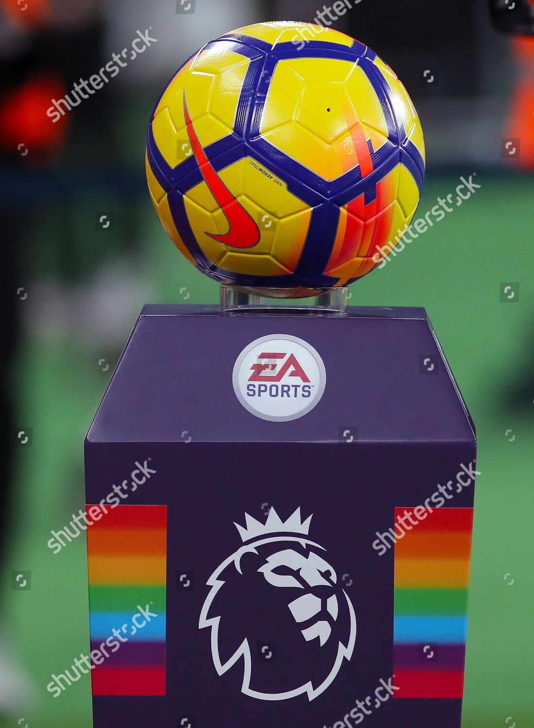 premier league match ball stand support stonewall editorial stock photo stock image shutterstock https www shutterstock com editorial image editorial west ham united v leicester city premier league football the london stadium queen elizabeth park london uk 24 nov 2017 9238154as