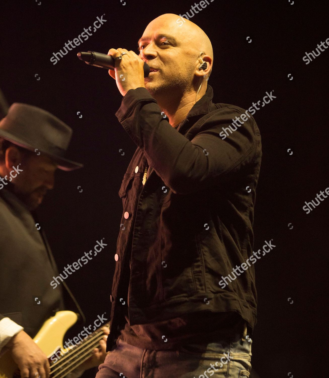Ed Kowalczyk band Live performs concert during Editorial