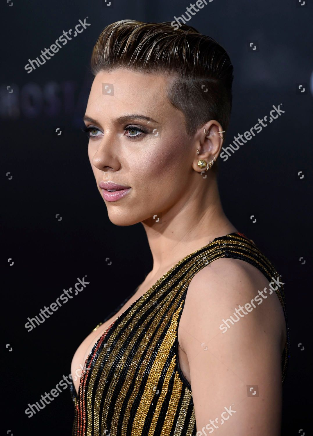 Scarlett Johansson Attends Premiere Ghost Shell Amc Editorial Stock Photo Stock Image Shutterstock