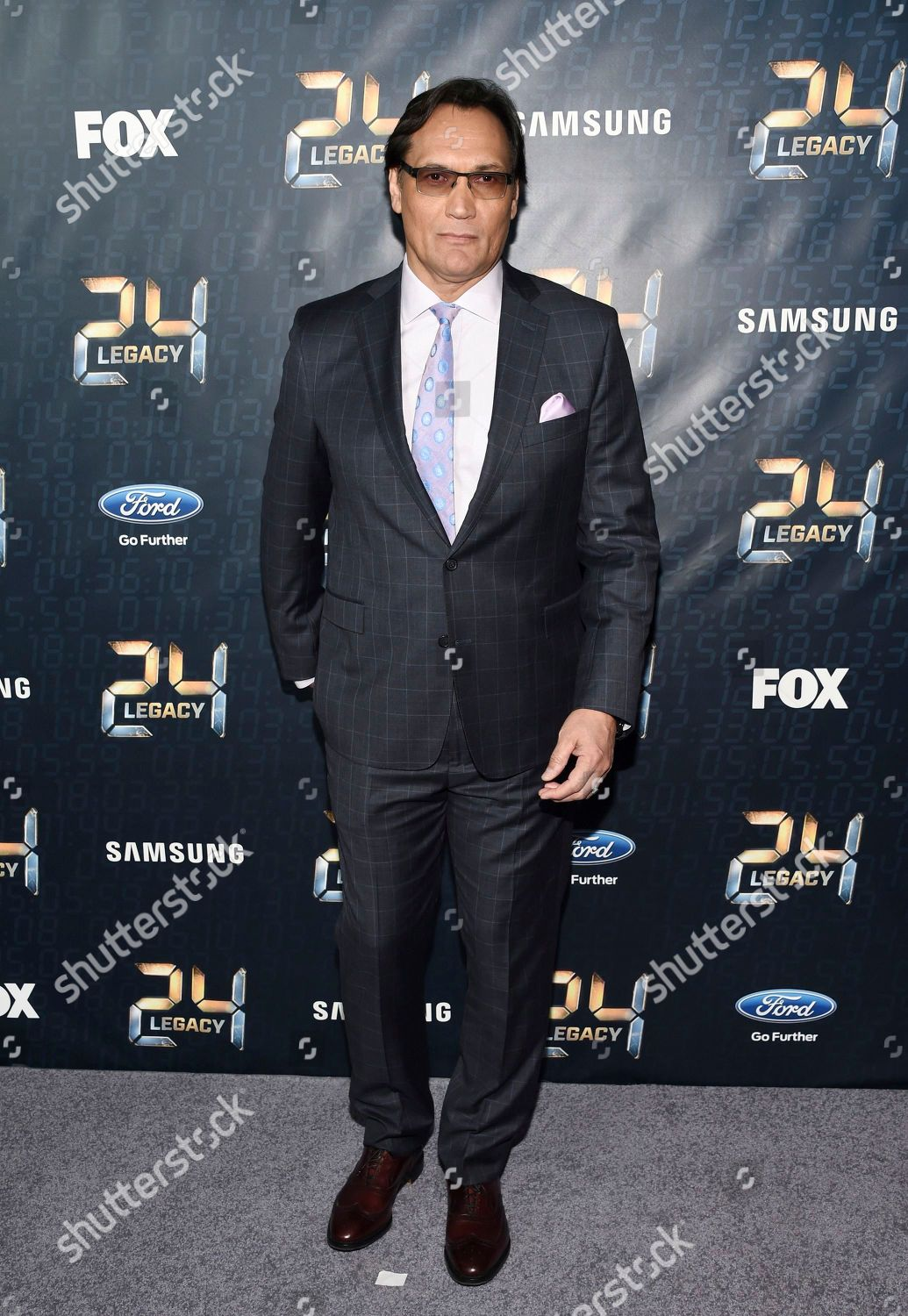 Actor Jimmy Smits attends season premiere 24 Editorial Stock