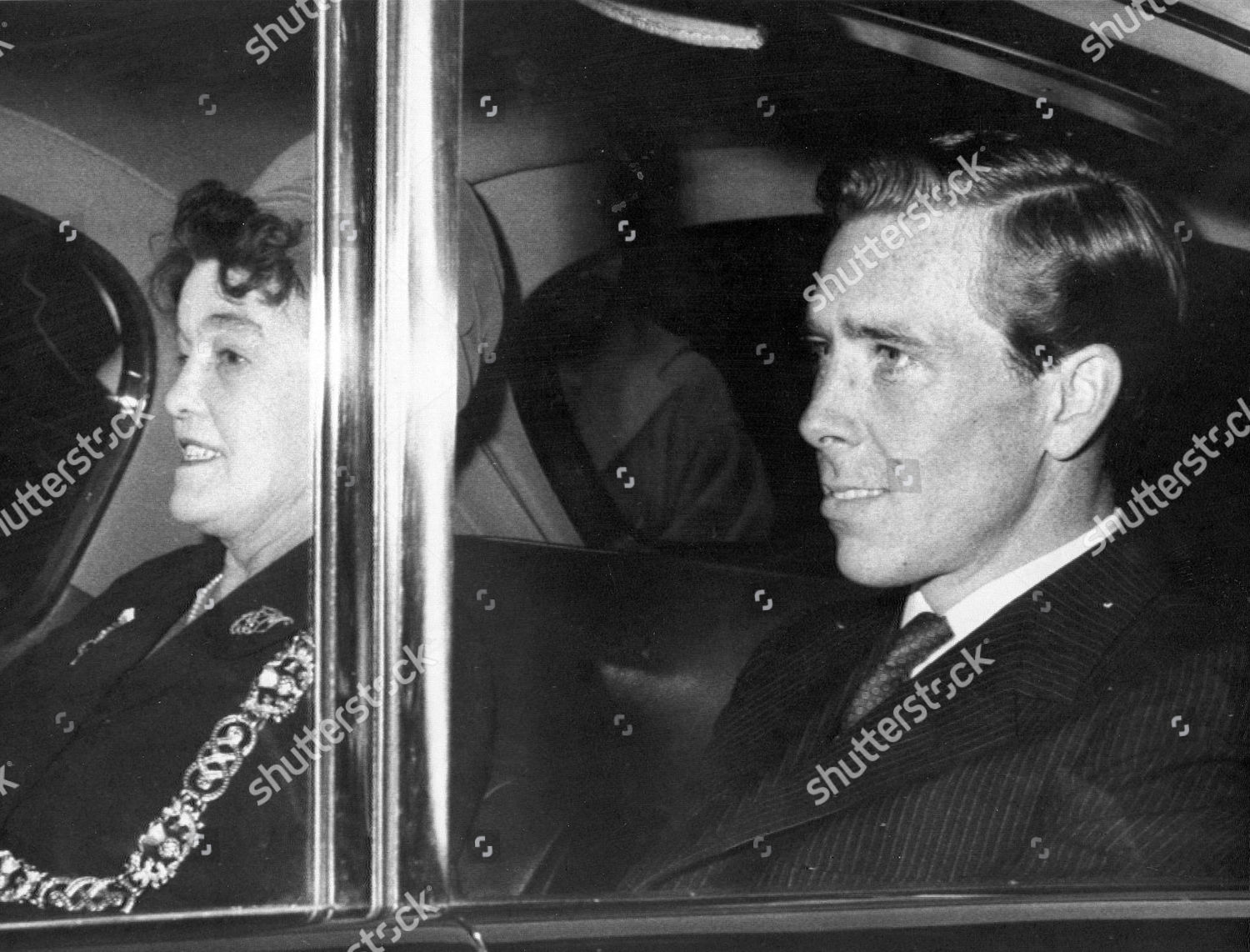 Mr Antony Armstrongjones Husband Princess Margaret Leaves