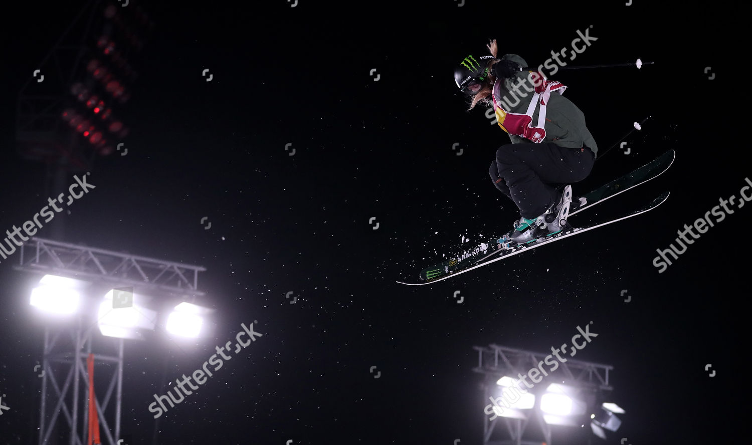 Giulia Tanno Switzerland competes during Womens FIS Editorial Stock