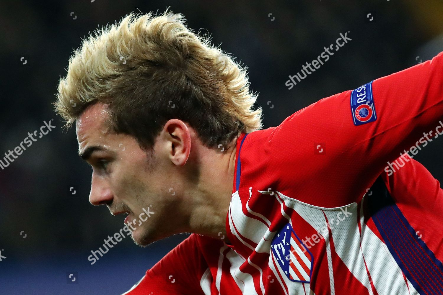 Antoine Griezmann Atletico Madrid Sporting New Hairstyle