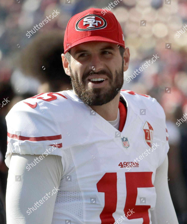 San Francisco 49ers quarterback Christian Ponder 15 Editorial ...