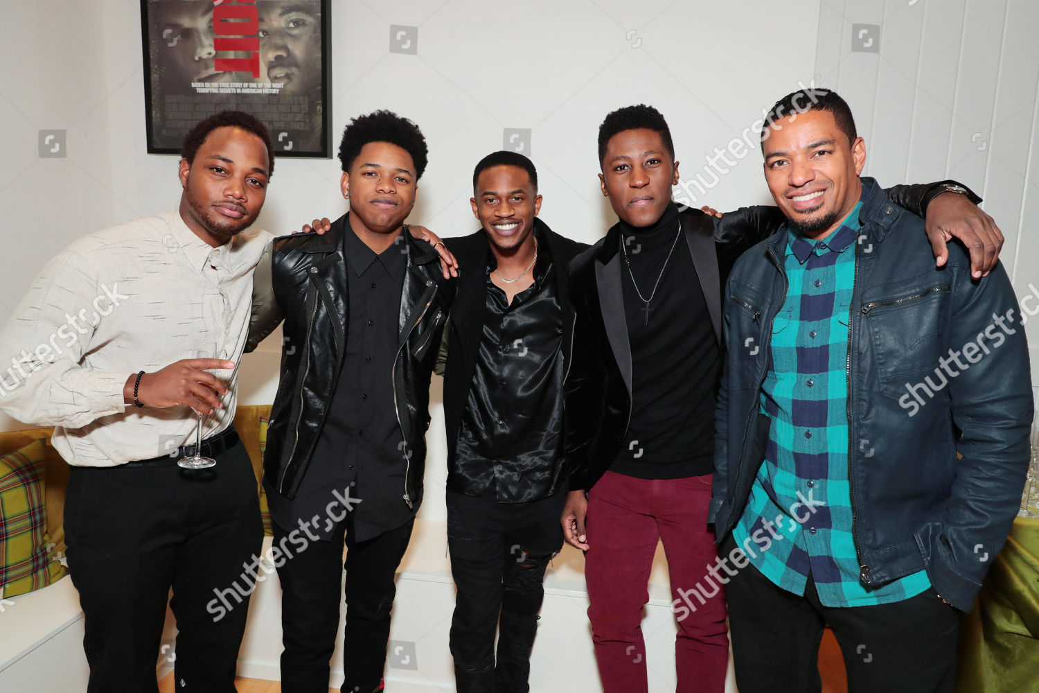 Stock photo of Annapurna Pictures 'Detroit' Holiday Event, Los Angeles,  USA - 08 December 2017
