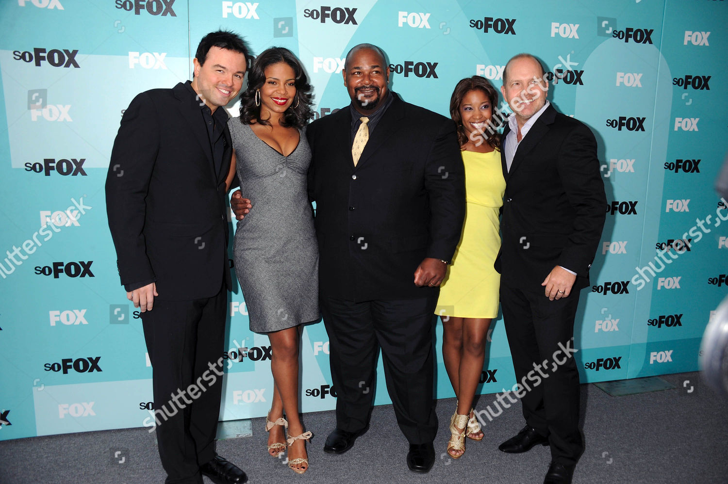 Stock photo of 2009 Fox Networks Upfront Presentation in New York, America - 18 May 2009