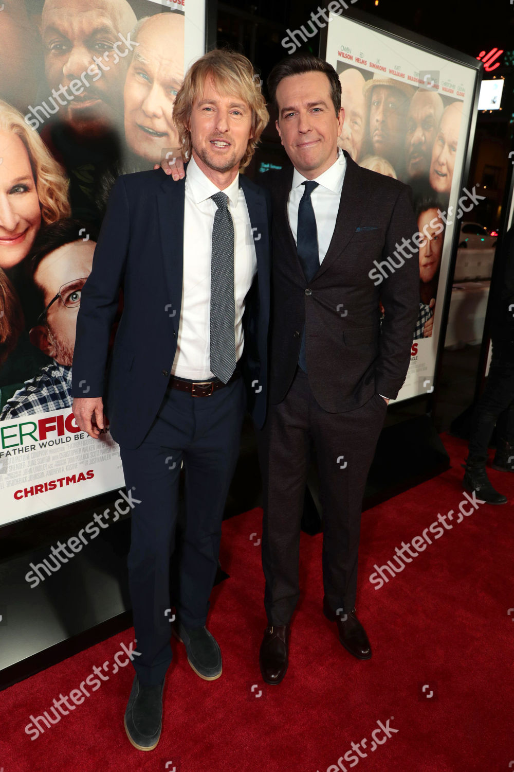 Warner Bros. Pictures World Premiere of FATHER FIGURES, Los Angeles, CA, USA - 13 December 2017: стоковое фото