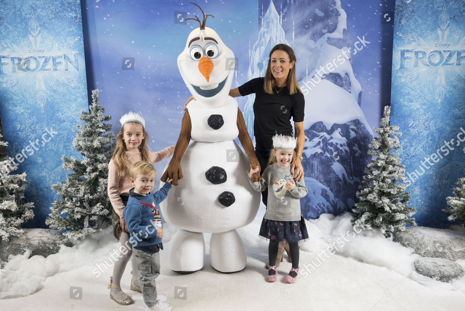 Frozen Christmas Special.Natalie Pinkham Attends Special Holiday Screening Disney